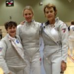 SE Ladies Foil team