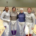 SE Ladies Sabre team