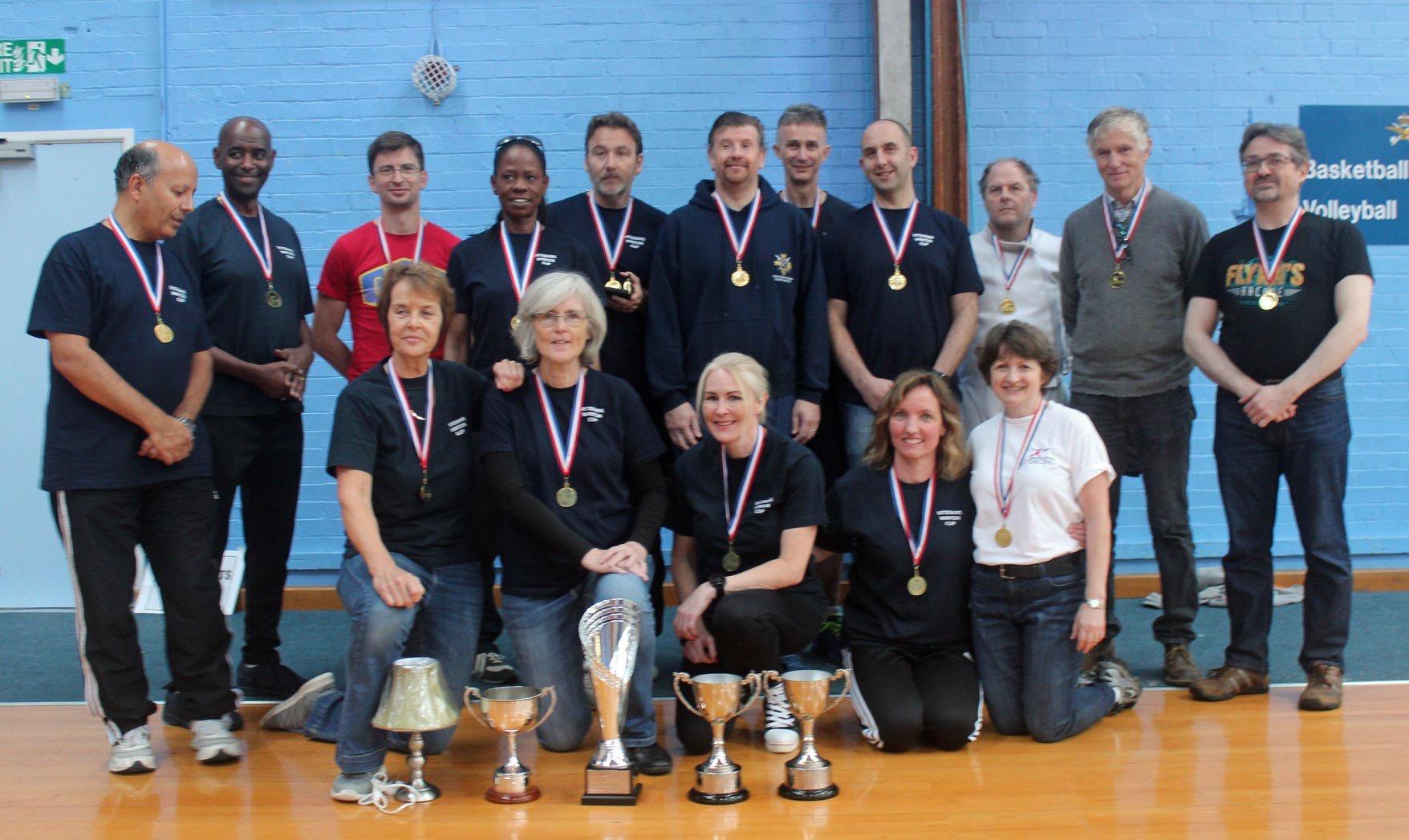 Winning Team, Vets Winton 2019